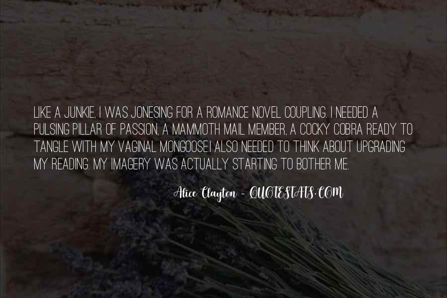 Quotes About The Passion Of Reading #302635