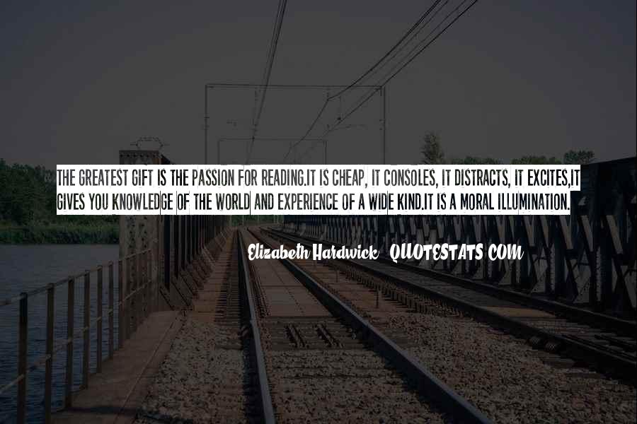 Quotes About The Passion Of Reading #461387