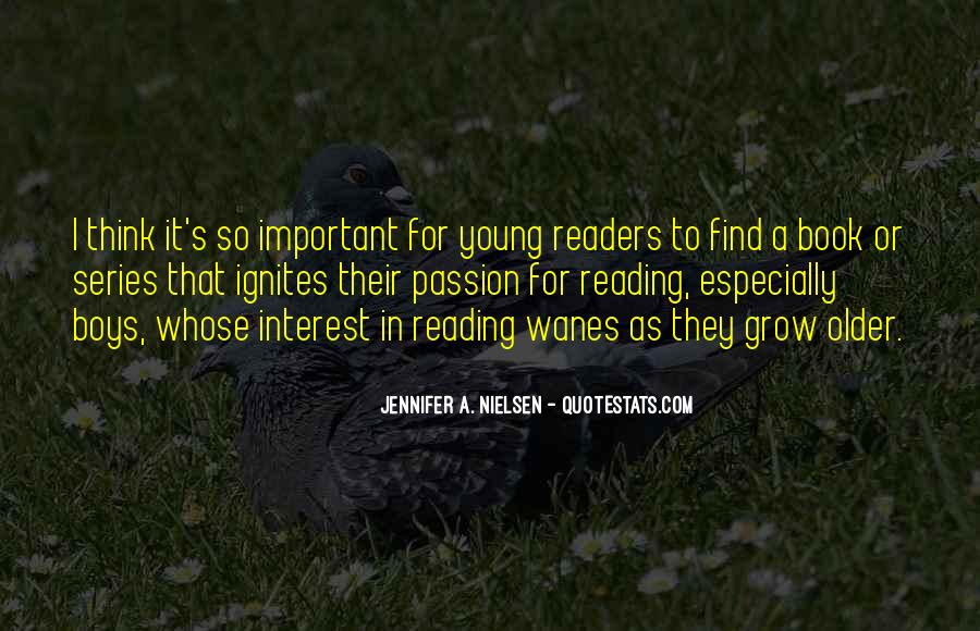 Quotes About The Passion Of Reading #484310