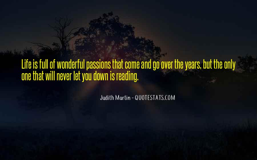 Quotes About The Passion Of Reading #523050