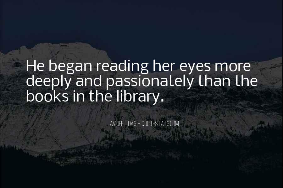 Quotes About The Passion Of Reading #59201