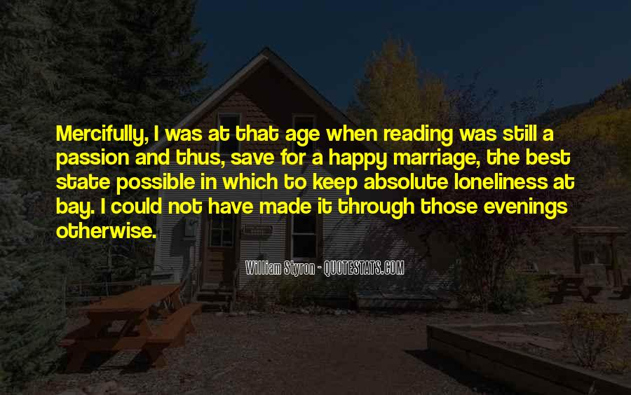 Quotes About The Passion Of Reading #748318