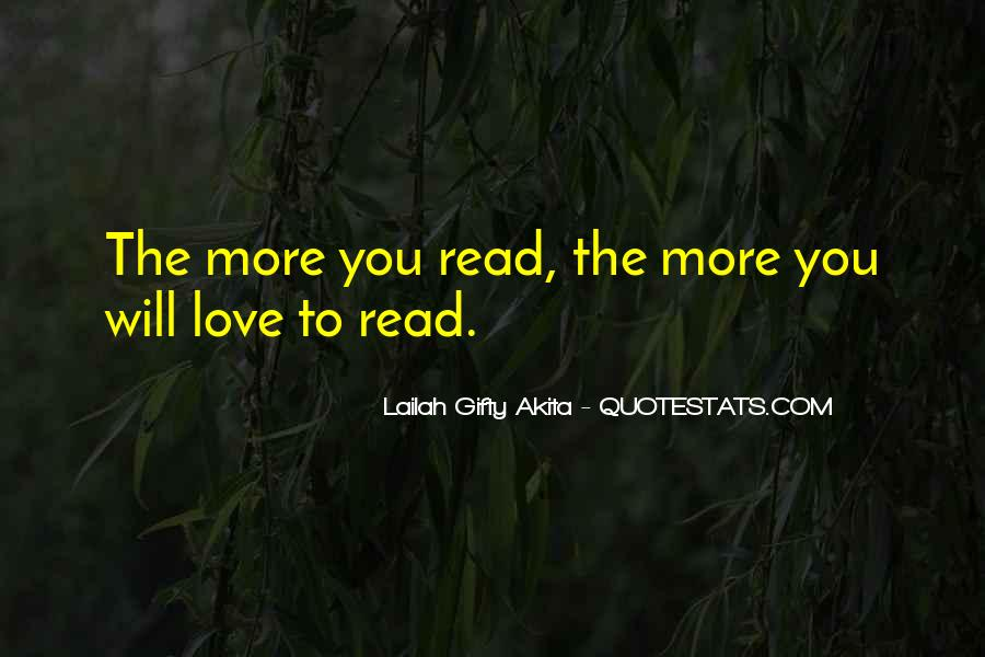 Quotes About The Passion Of Reading #831702