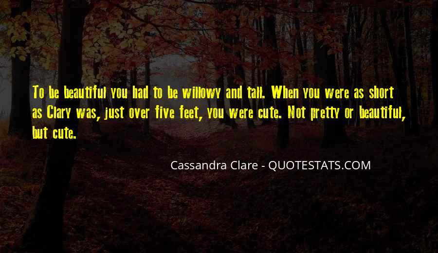 Cute Feet Quotes #16722