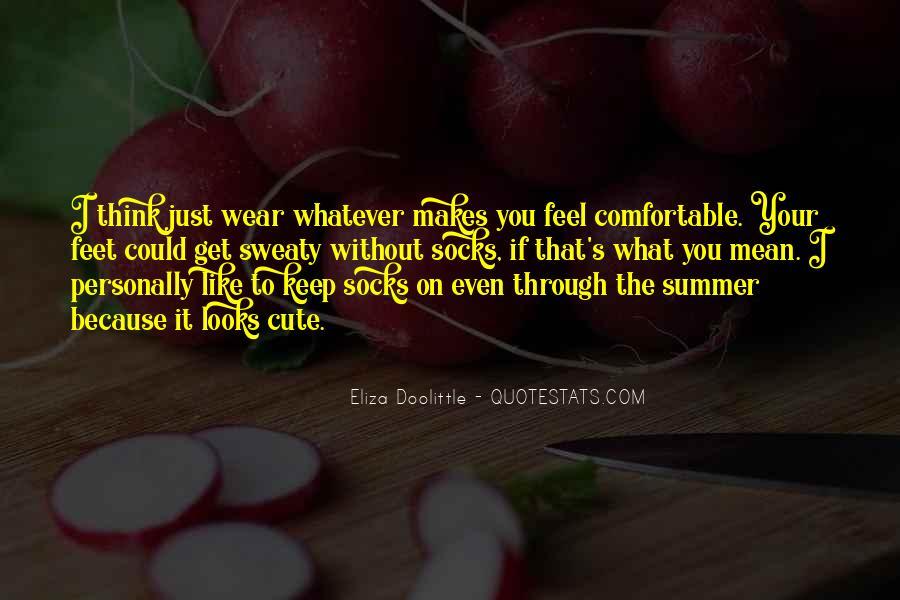 Cute Feet Quotes #1754150