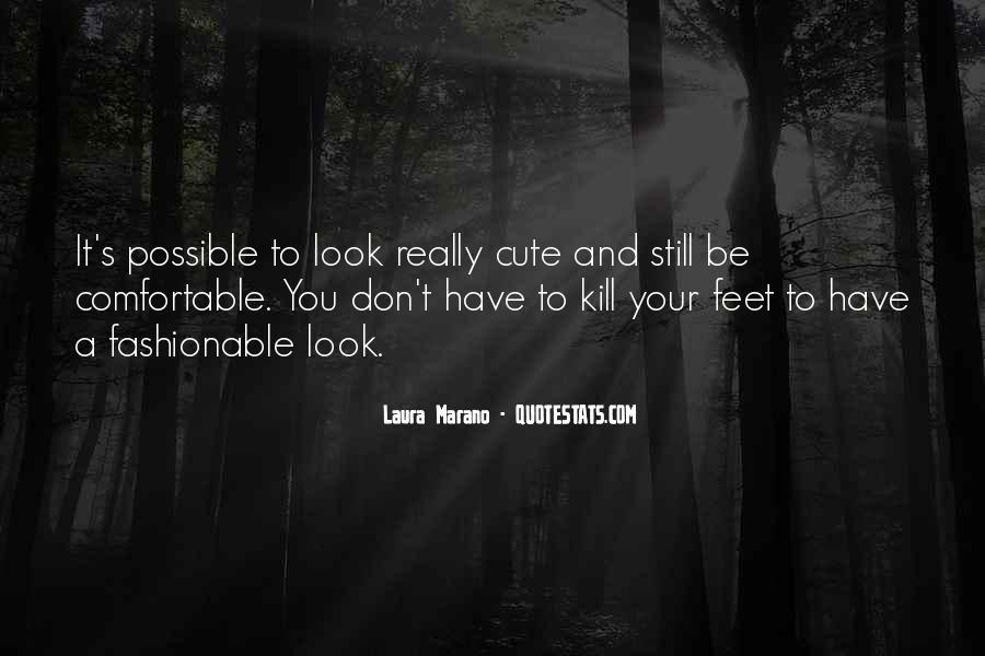 Cute Feet Quotes #662981