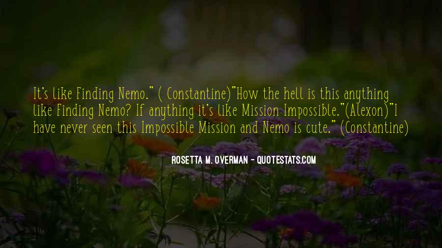 Cute Finding Nemo Quotes #1872559