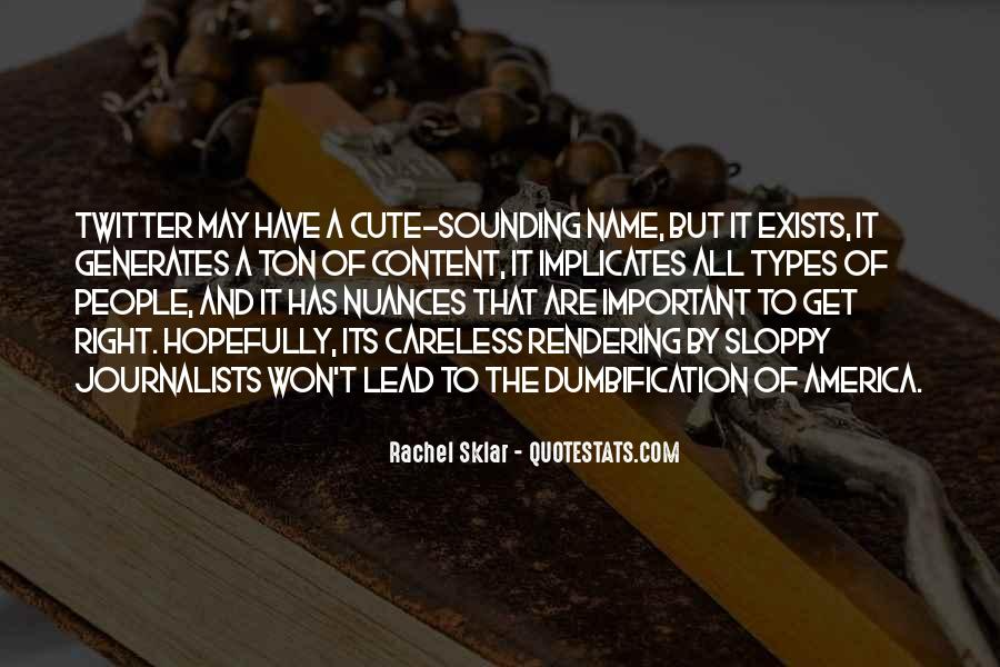 Cute Name For Quotes #1732031