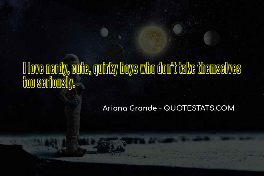 Cute Nerdy Quotes #1668288