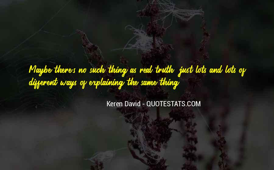 Quotes About Keren #169759