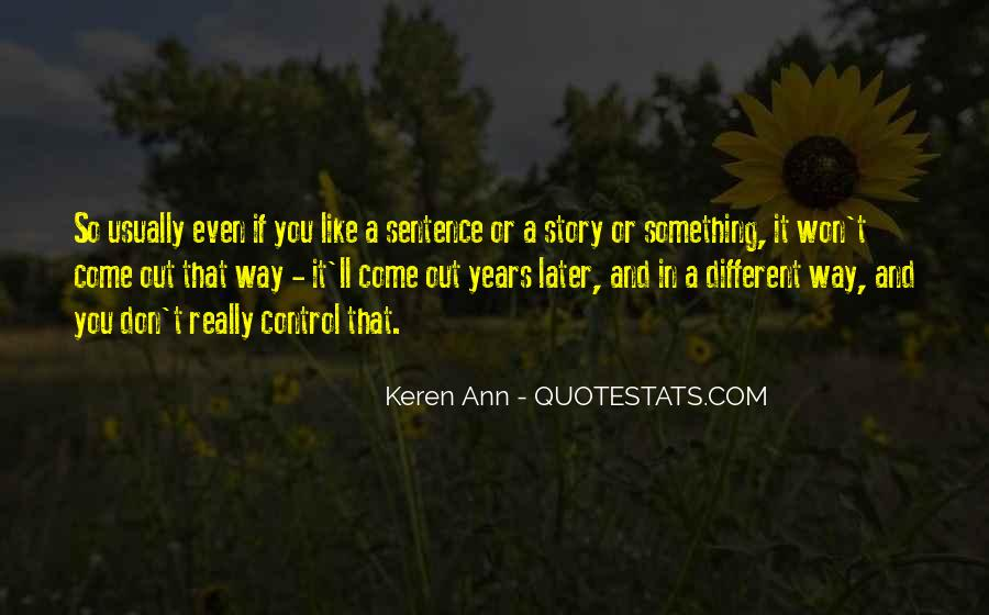 Quotes About Keren #768227