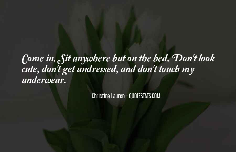 Cute Underwear Quotes #54204