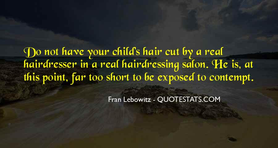 Cutting Off Hair Quotes #1121556