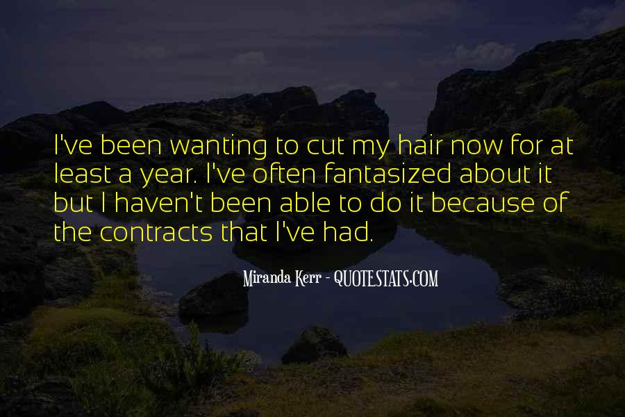 Cutting Off Hair Quotes #1123294