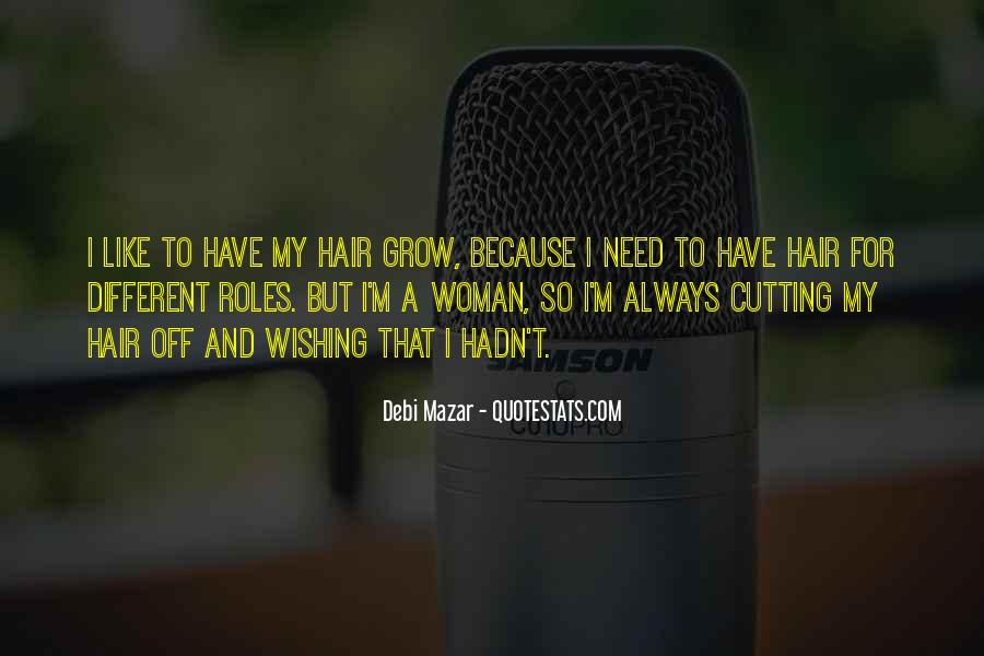 Cutting Off Hair Quotes #383530
