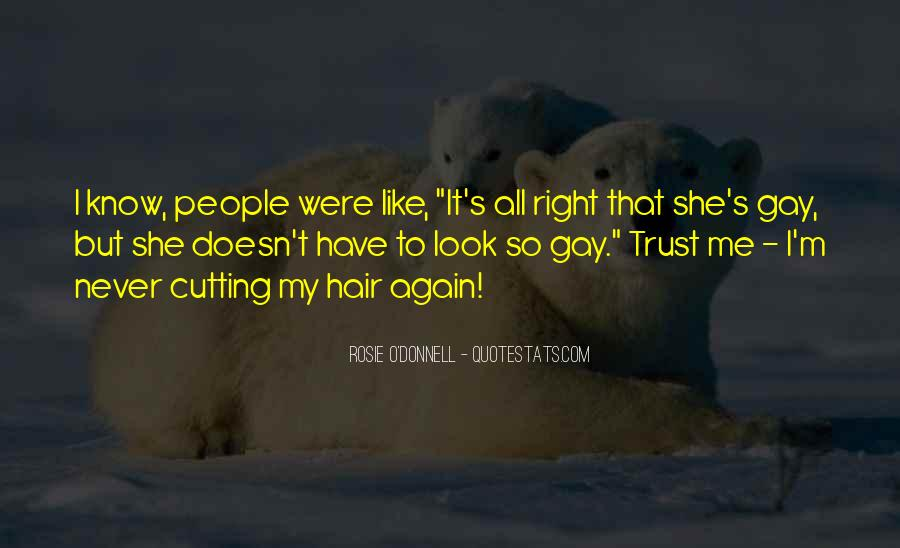 Cutting Off Hair Quotes #708990
