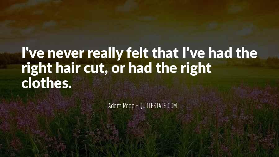 Cutting Off Hair Quotes #843423