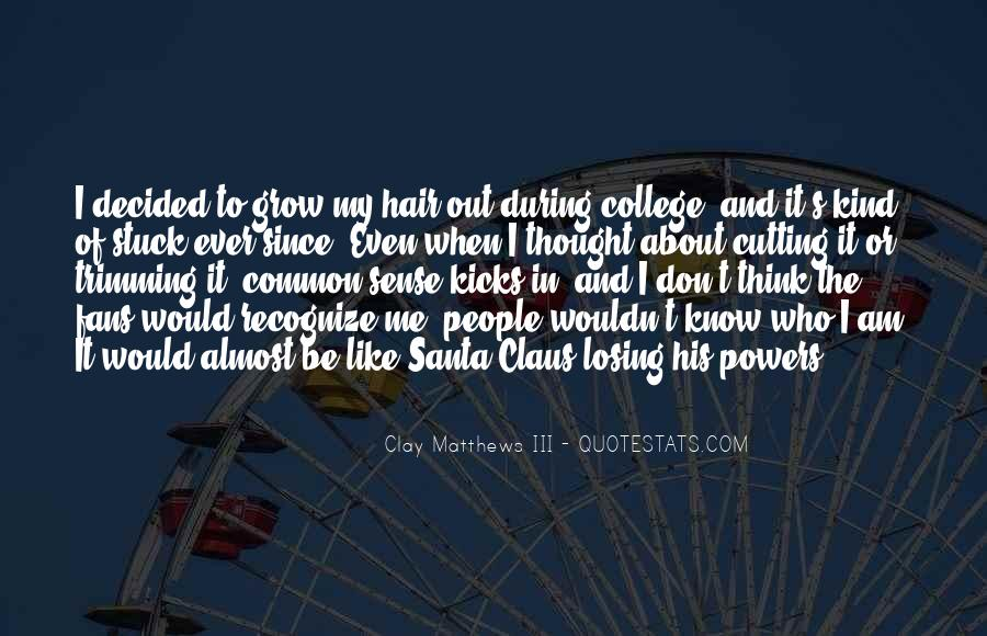 Cutting Off Hair Quotes #932435