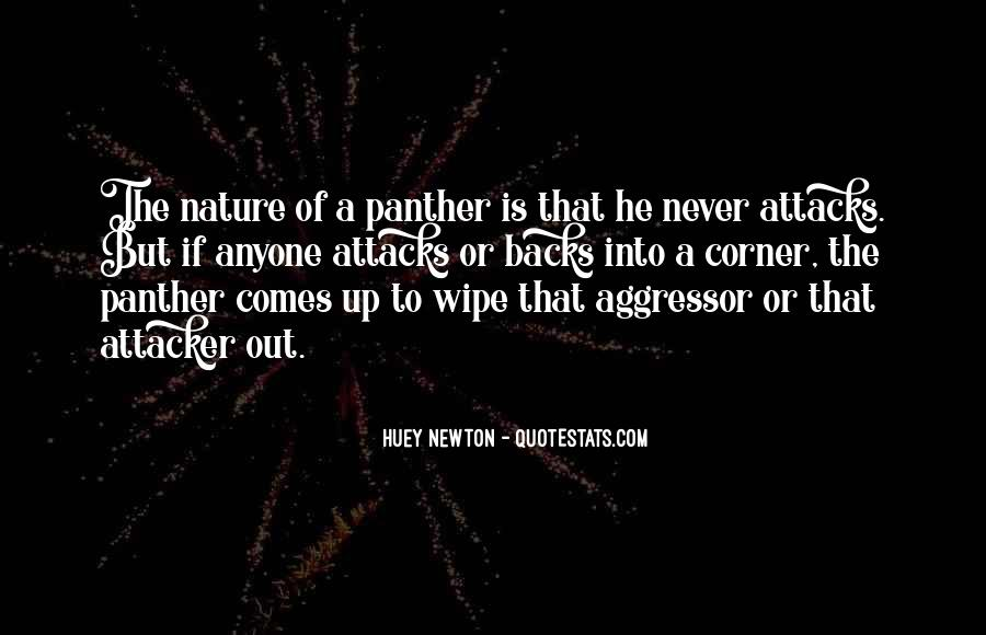 Quotes About The Panthers #1461696