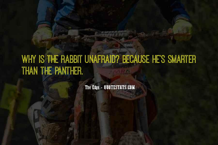 Quotes About The Panthers #1685793