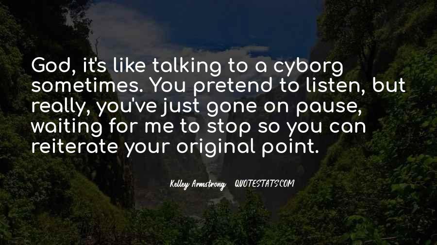 Cyborg Quotes #1137500