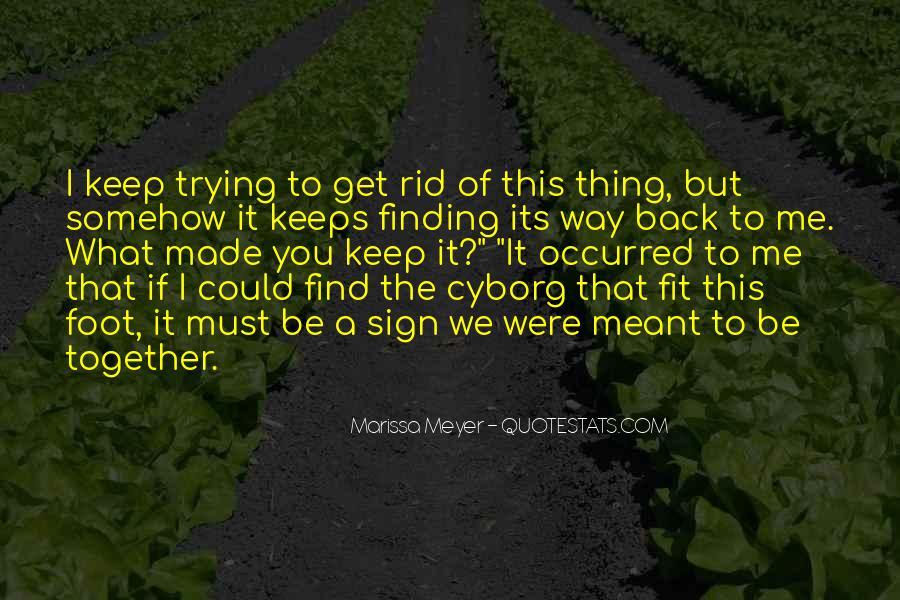 Cyborg Quotes #1371051