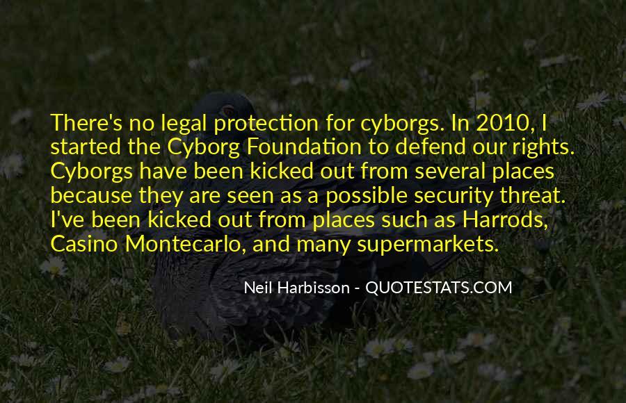 Cyborg Quotes #1397369