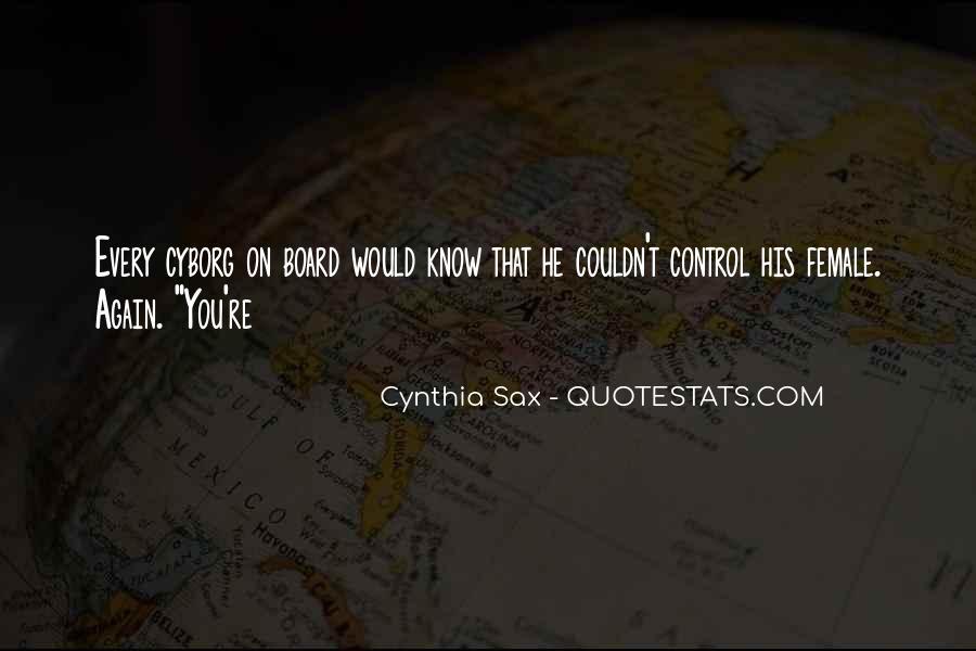 Cyborg Quotes #1566426