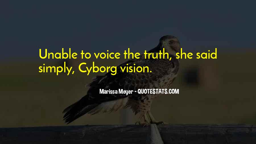 Cyborg Quotes #1581825