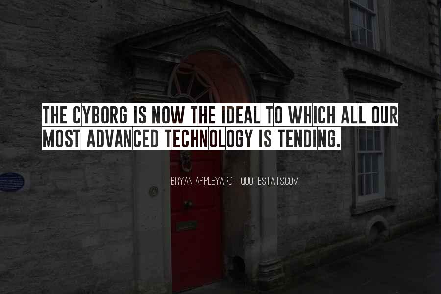 Cyborg Quotes #1655864