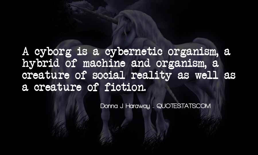Cyborg Quotes #1661350