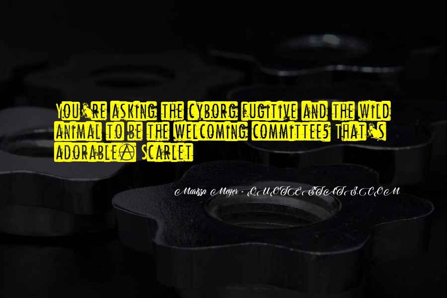 Cyborg Quotes #1739777