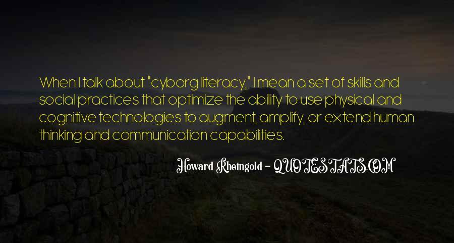 Cyborg Quotes #366037