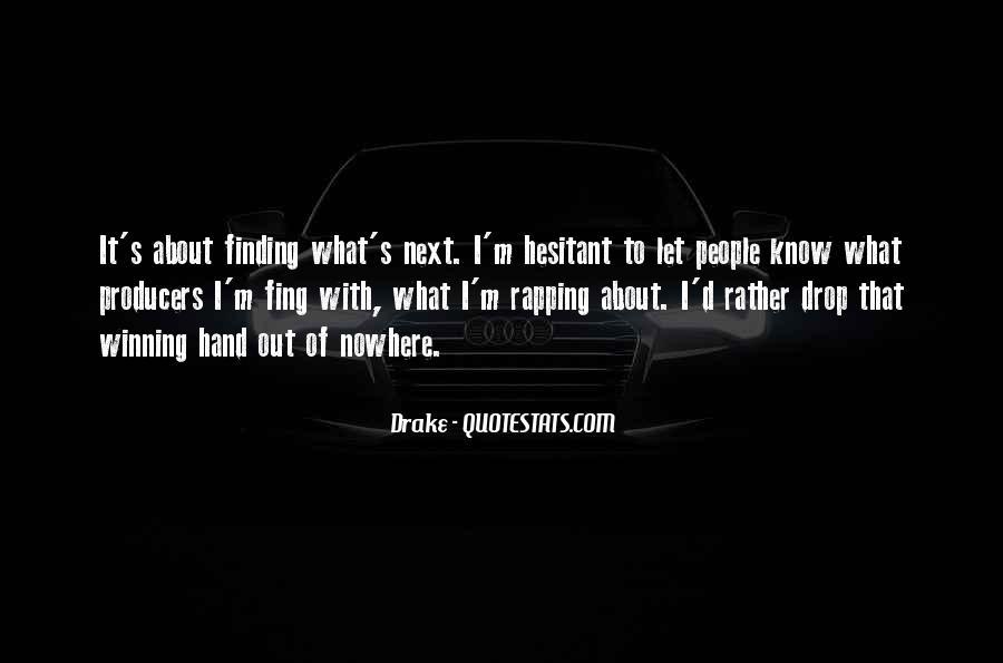 D.m Drake Quotes #725410
