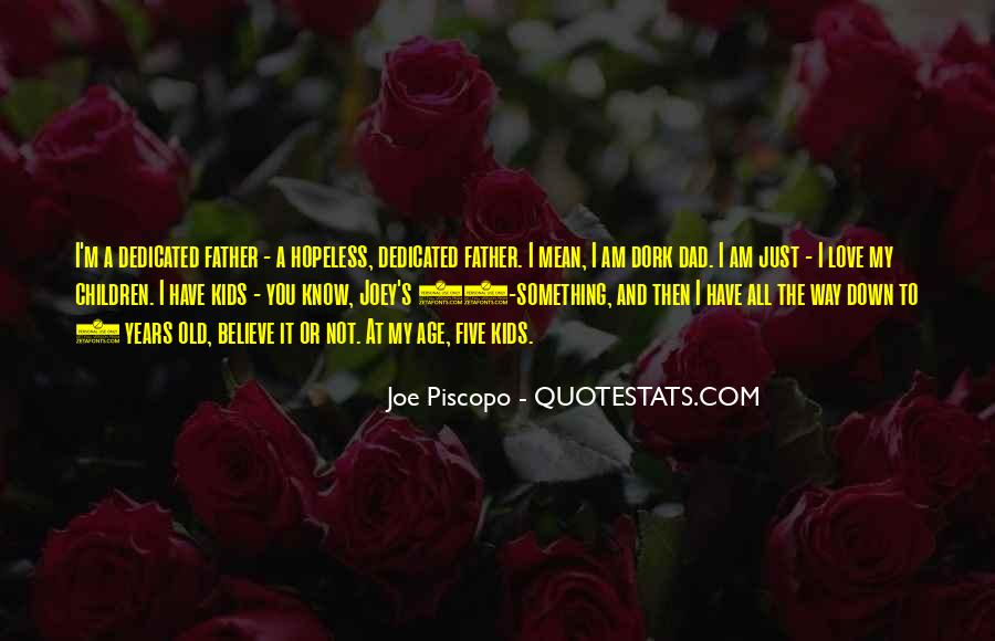 Dad Vs Father Quotes #109503