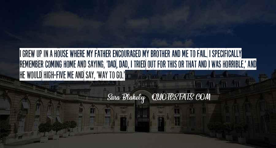 Dad Vs Father Quotes #63094