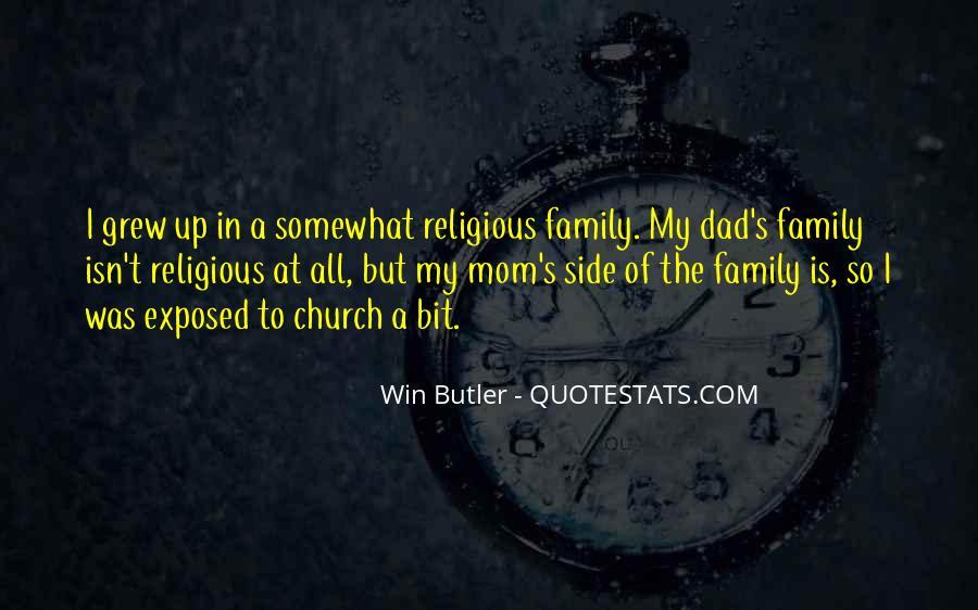 Dad Vs Mom Quotes #15974