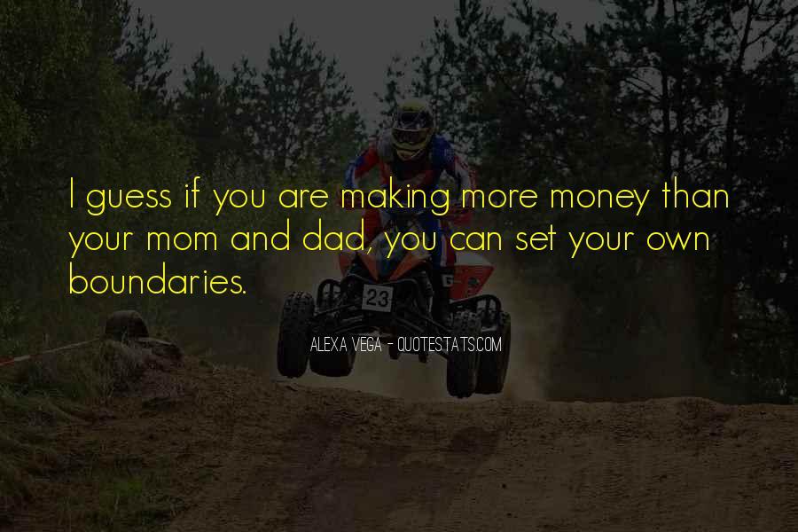 Dad Vs Mom Quotes #3040
