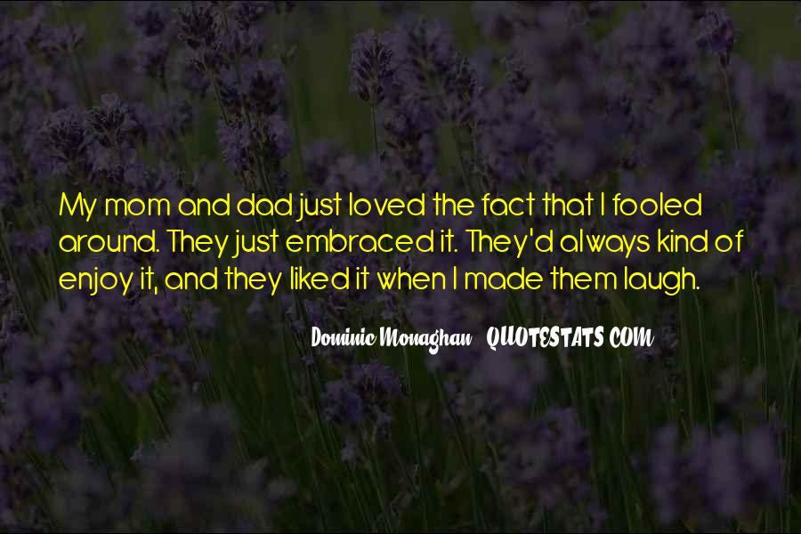 Dad Vs Mom Quotes #48520