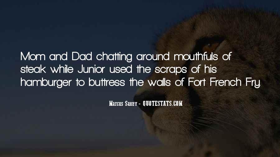 Dad Vs Mom Quotes #67613