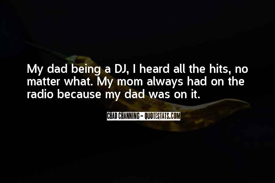 Dad Vs Mom Quotes #69429