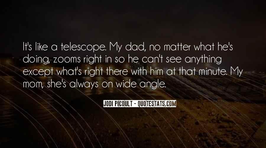Dad Vs Mom Quotes #72657
