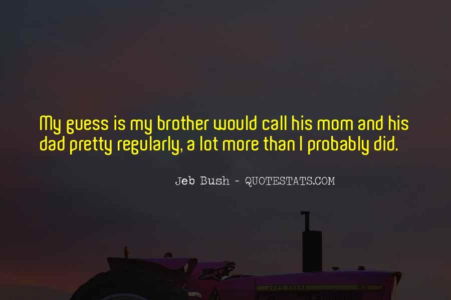 Dad Vs Mom Quotes #76680