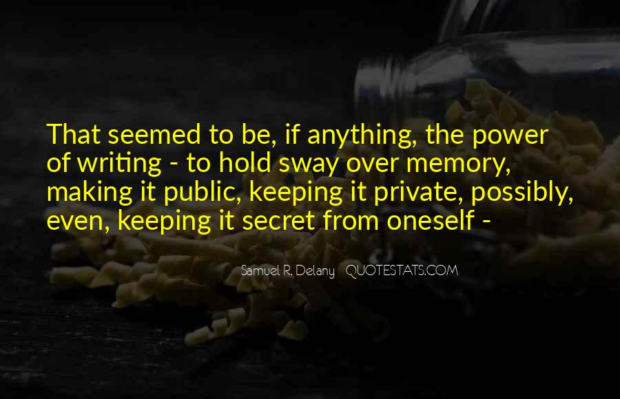 Quotes About Keeping Some Things Private #1688587