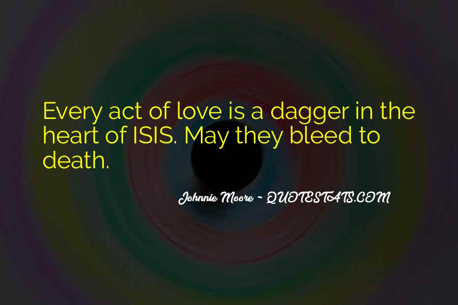Dagger Love Quotes #1225201