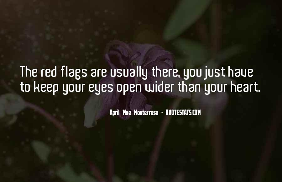 Quotes About Keeping Eyes Open #1077628
