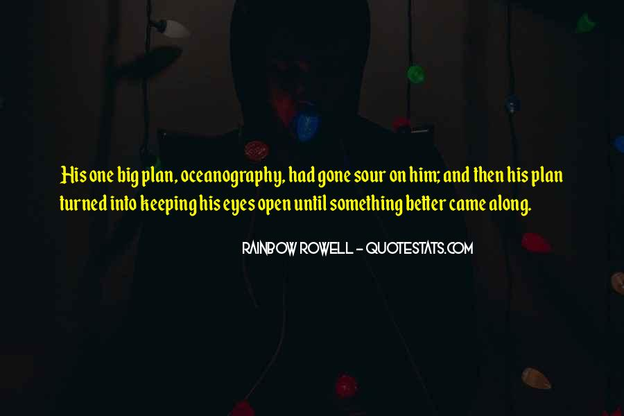 Quotes About Keeping Eyes Open #1296585