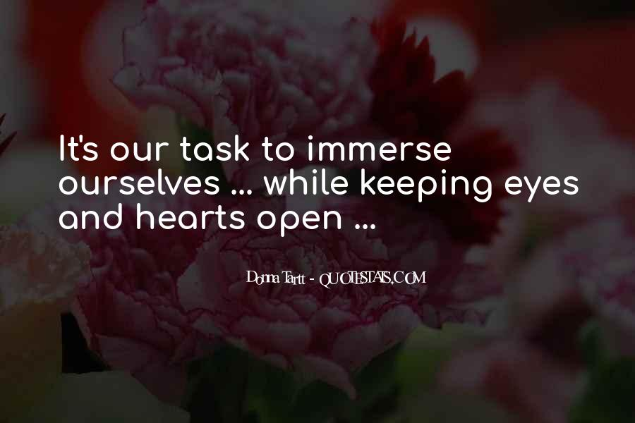 Quotes About Keeping Eyes Open #440704