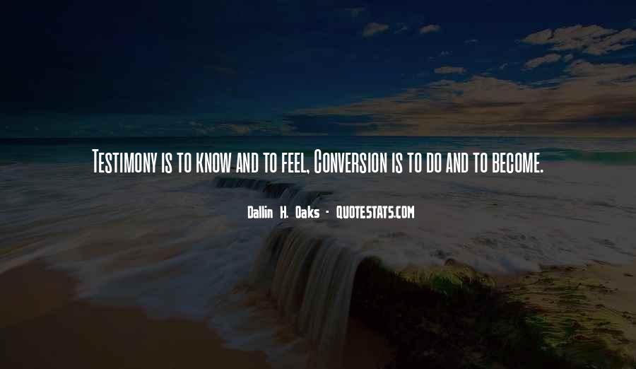 Dallin Oaks Quotes #169640