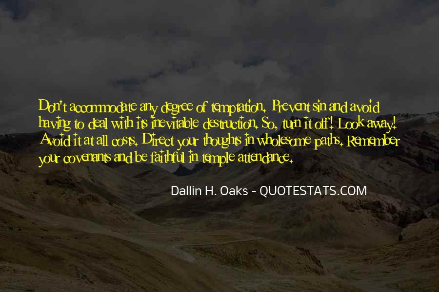 Dallin Oaks Quotes #390569